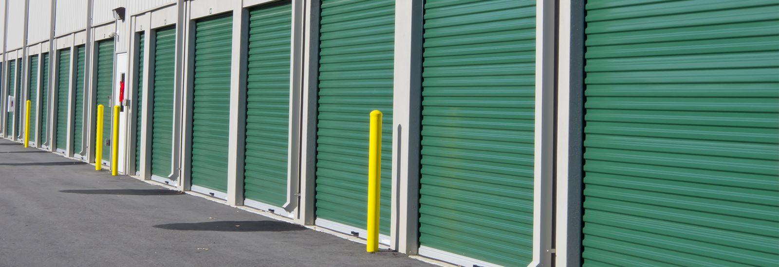 Green Commercial Roller Doors in Perth