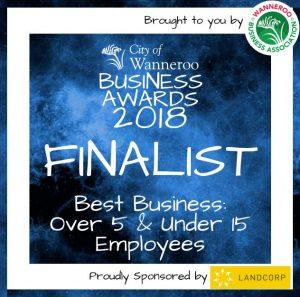 Wanneroo Business Award -2018-Finalist