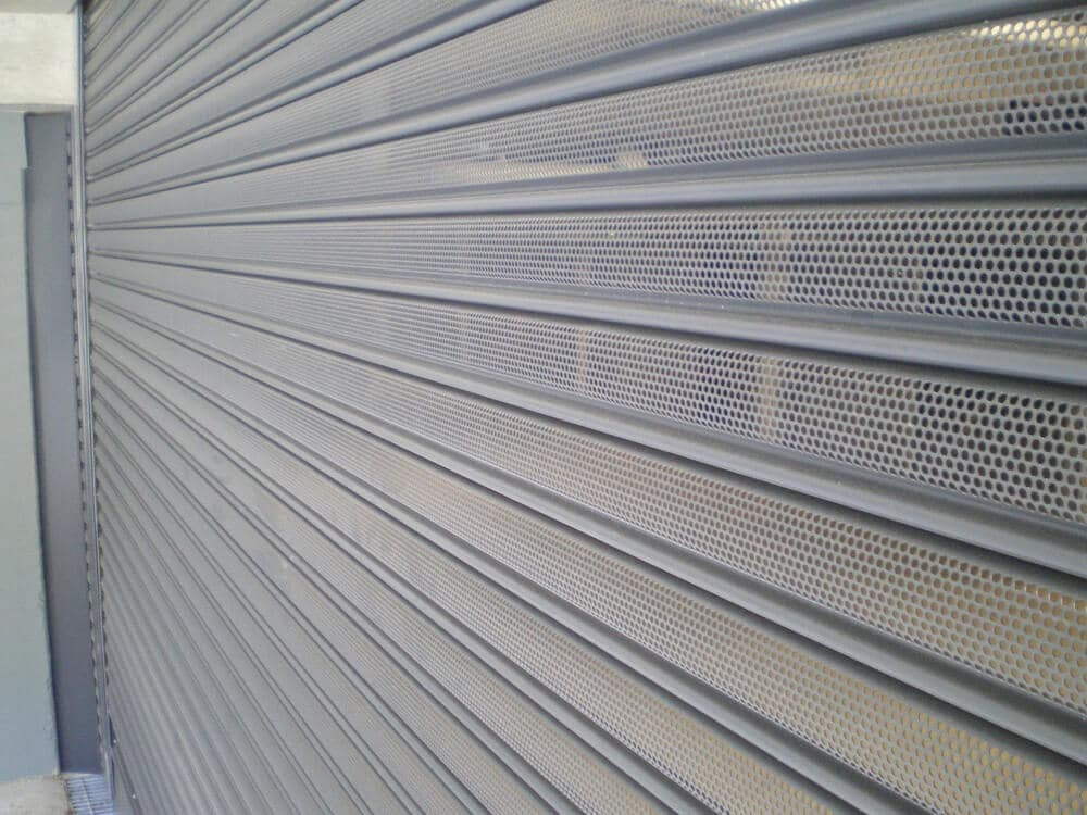 Perforated Commercial Roller Shutter