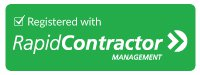 Registered with Rapid Contractor for a Safer Workplace