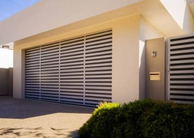 Slatted Garage Door