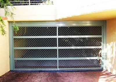 Security Mesh Garage Door