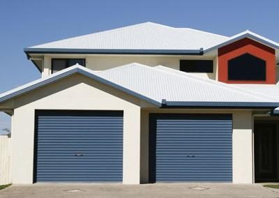 Blue Steel-Line Single Roller Doors