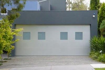 Tilt door garage door