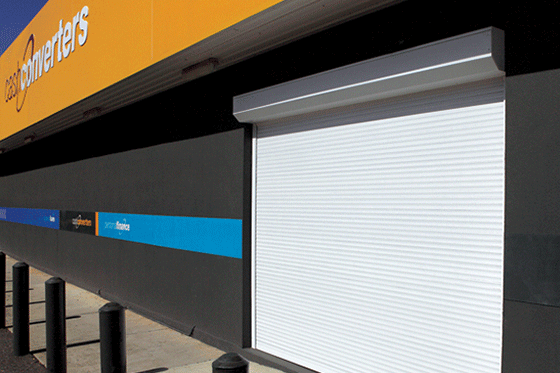 Commercial Security Roller Shutter