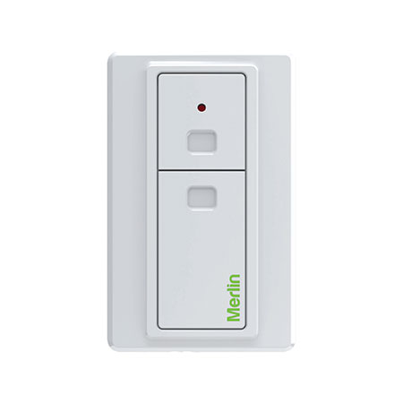 Merlin 2-button wireless wall button