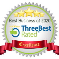 Three Best Rated - awarded for business excellence in 2020