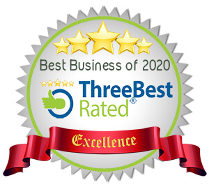 Three Best Rated 2020 - awarded for business excellence